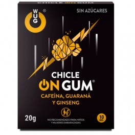CHICLES WUG ON GUM 10 UNIDADES